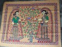 Madhubani Painting Of Two Princess