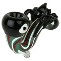 Glass Pipe Sherlock Octopus Design 5 Inches Smoking Pipe
