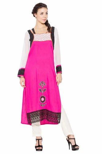 de627f8cfc Designer Beautiful Party Wear Long Salwar Kurti Suit at Rs 1399 ...