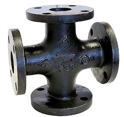 C.I. Cross Tee  Flanges