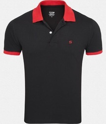 Half Sleeves Cotton Polo T-Shirts
