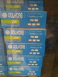 Ploycab 2W Pearl Spot Lights