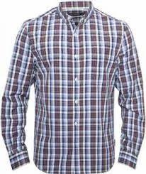 Check Design Shirt