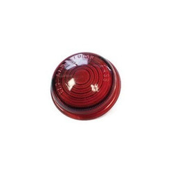 red glass light cover