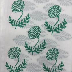 Wooden Hand Block Print Fabric