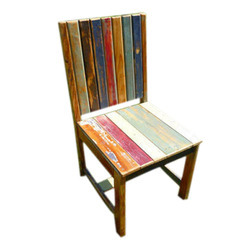 Reclaimed Wood Color Full Chair