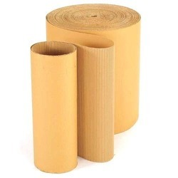 Broad Flute Corrugated Roll