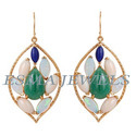 Multi Colour Stone Earring
