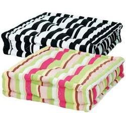 Striped Floor Cushions