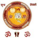 Diwali Pooja Thali N Diya  101