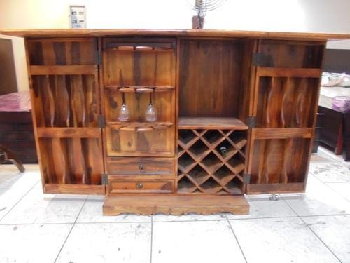 Wooden Home Bar Table