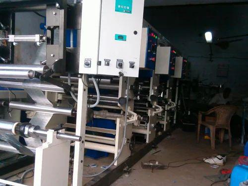 Foil Printing Machine - Aluminum Foil Rotogravure Printing Machine ...