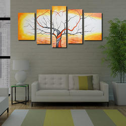 Yellow Tree Painting