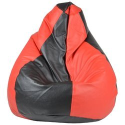 Xxxl Black and Red Galaxy Bean Bag