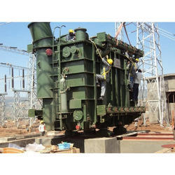 Electrical Transformer Erection Service