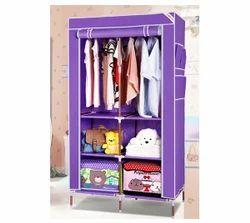 Foldable Wardrobe 90cm - Purple