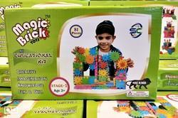 Mix Colours Magic Bricks Toy, Size/Dimension: 12 8 Inches