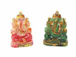 Quartz Painting Ganesh