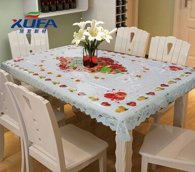 Plastic Transparent Dining Table Covers