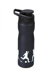 Black And White Stainless Steel Steel Shaker Bottles