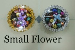 Small Flower Tray with handmade chocolate (200GMS)