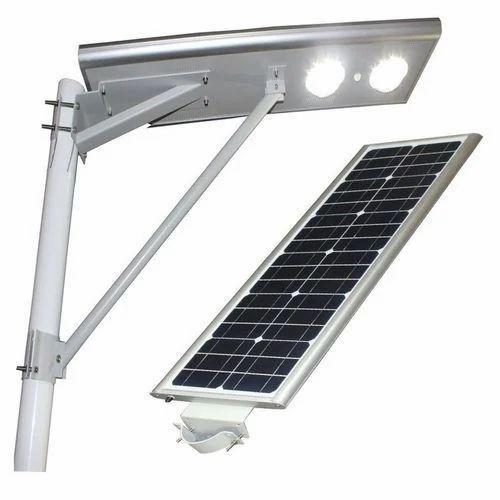Integrated LED Solar Street Light - 15W