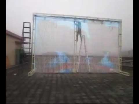Outdoor Led Curtain Display Screen