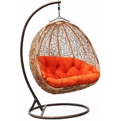 Double seater swing chairs