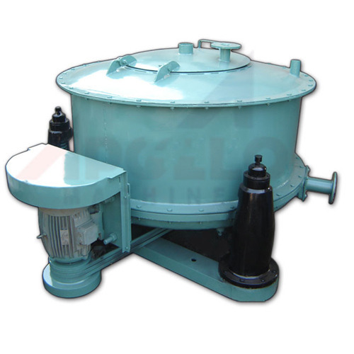 Stainless Steel 50 Kg Manual Top Discharge Centrifuge