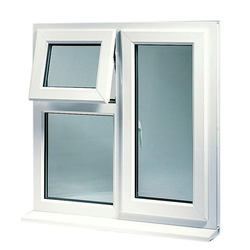 White UPVC Combination Window, for Home, Office etc, Thickness Of Glass: 5 To 40mm