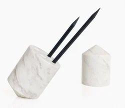 Marble Stone Pen Holder