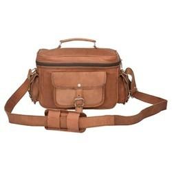 Genuine Leather Camera Messenger Bag CAM101