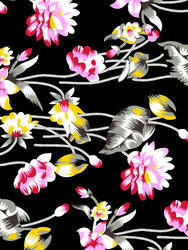 Knitted Fabric Printed
