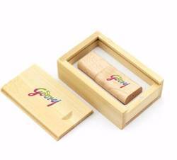 Wooden Pendrive With Box
