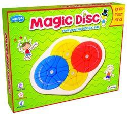 Petals Magic Disc Puzzle Brain Teaser Intellectual Educational Game