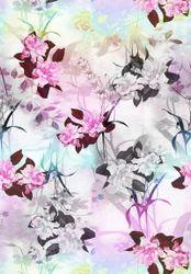 Satin Silk Digital Printed Scarves