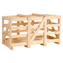 Jungle Wooden Crate