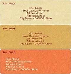 Mailing Labels And Wedding Card Mailing Labels Wholesale Supplier