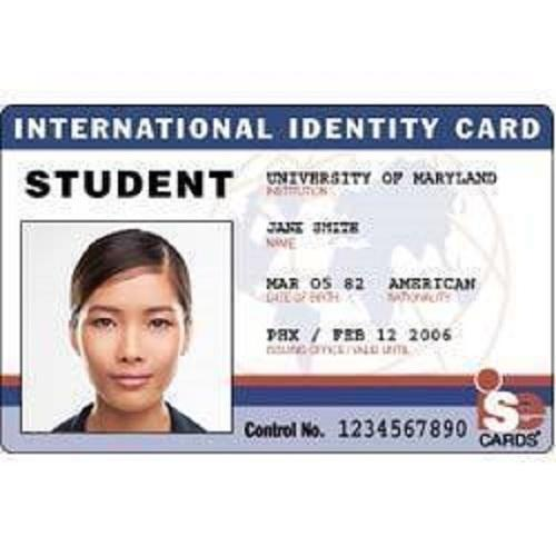 student id card view specifications details of id card by t4s