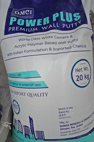 Power Plus Premium Wall Putty (cement Base)