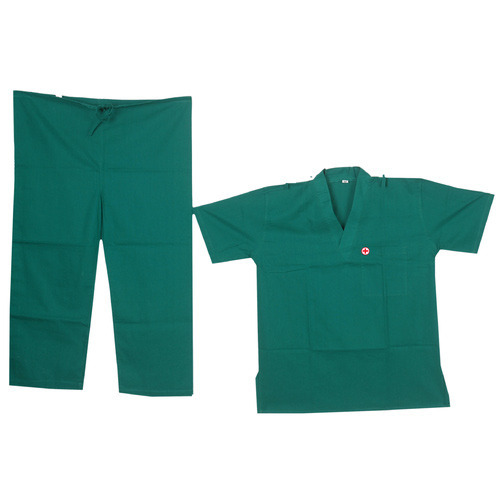 Pure Cotton Surgical Uniform, Size: Medium And XL