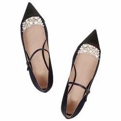 Casual,Formal Miu Flat Shoes, Size: 5-8