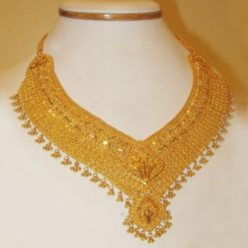 Gold Jewellery Designer Gold Necklace Set Wholesale