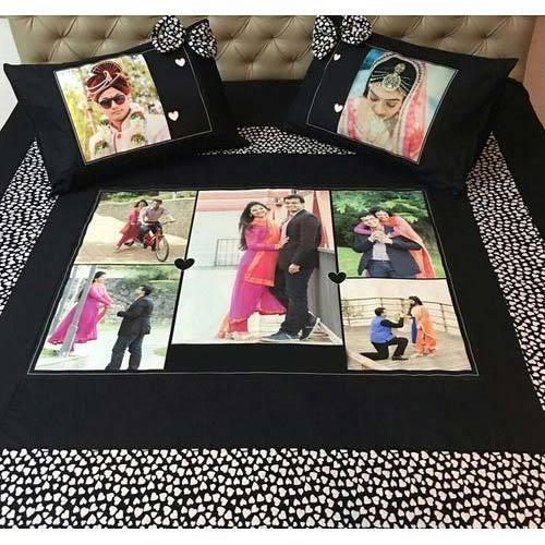 Personalized Anniversary Bed Sheet