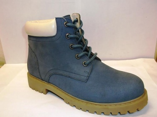 Boot 12 Leather Blue Boys Boots, Size