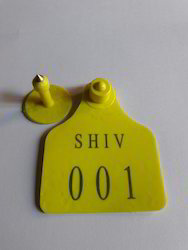 Plastic Ear Tag For Cow And Cattle