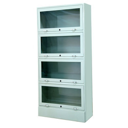 Steel Book Cabinet, Size/Dimension: 1850 X 850 X 390 Mm