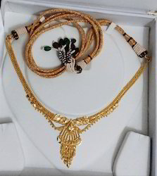 SDJ Yelow Gold LWN Necklace