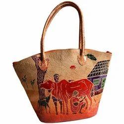 Handmade Stylish Ladies Leather Handbag