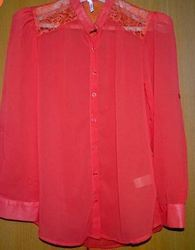 Carmine Red Top for Women